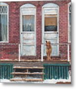 Alone Again Metal Print
