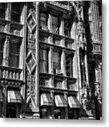 Alwyn Court Building Detail 14 Metal Print
