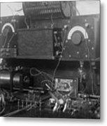 Amateur Wireless Station, Photograph Metal Print by Everett