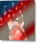 America Metal Print by Tbone Oliver