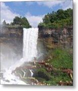 American Falls At Niagra Metal Print