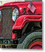 American Willys Metal Print