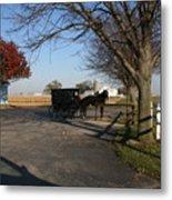 Amish 4 Metal Print