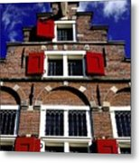 Amsterdam Windows Metal Print