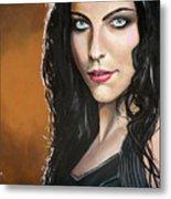 Amy Lee Metal Print