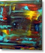 An Abstract Thought Metal Print