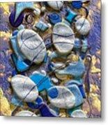 An Arrangement Of Stones Metal Print