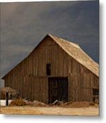 An Old Barn In Rural California Metal Print