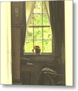 An Open Door Metal Print