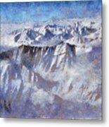Anaktuvuk Pass Alaska Metal Print