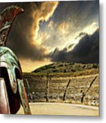 Ancient Greece Metal Print by Meirion Matthias