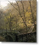Ancient Mountain Trail Metal Print