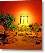 Ancient Ruins Metal Print