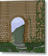 Ancient Walls Metal Print
