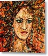 Ancient Woman Metal Print