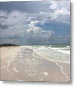 Anclote Key Beach Metal Print