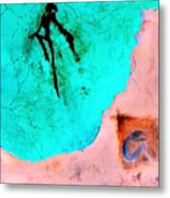 And The Spirit Moved Metal Print