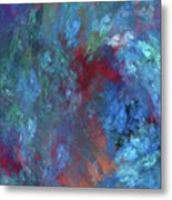 Andee Design Abstract 1 2017 Metal Print by Andee Design