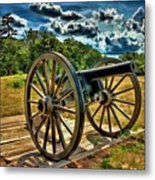 Andersonville Cannon Metal Print