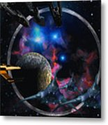 Andromeda Beckons Metal Print