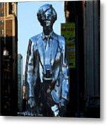Andy Warhol New York Metal Print