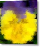 Angel Faced Petunia Metal Print