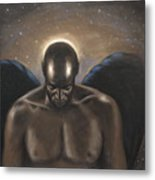 Angel Noir Metal Print