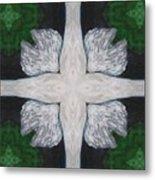 Angel's Cross Metal Print