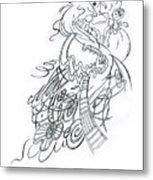 Angry Fairy Metal Print