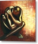 Angst Of Existence Metal Print