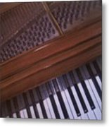 Anita's Piano 1 Metal Print