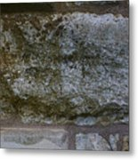 Another Mossy Brick In The Wall Metal Print