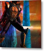 Another Super Hero Metal Print by Monroe Snook