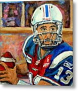 Anthony Calvillo Metal Print