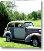 Antique Car 1 Metal Print