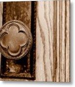 Antique Doorknob Metal Print