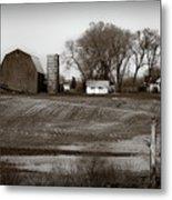 Antique Michigan Farm Metal Print