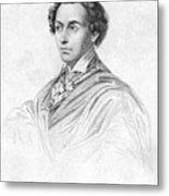 Antonin Car�me (1783-1833) Metal Print