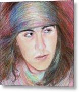 Apache Boy Metal Print