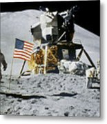 Apollo 15: Jim Irwin, 1971 Metal Print