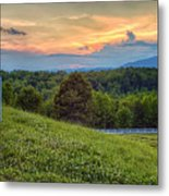 Appalachian Evening Metal Print