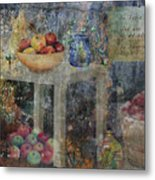 Apple Montage Metal Print