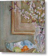 Apples And Oranges Metal Print