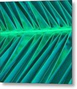 Aqua Angles Metal Print
