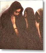 Arab Women Metal Print