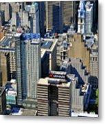 Aramark Psfs Buildings 1101 Market St Philadelphia Pa 19107 2926 Metal Print by Duncan Pearson