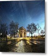 Arc Of Triumph Metal Print by Pascal Laverdiere