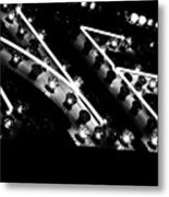 Arcade Lights Metal Print