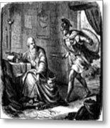 Archimedes (c287-212 B.c.) Metal Print