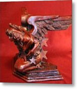Architectural Angel Metal Print by Larkin Chollar